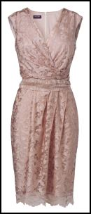 Wrap Pink Lace Cocktail Dress - Phase Eight.