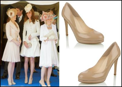 Nude Shoes Worn By The Royals - Kate, Sophie & Camilla,