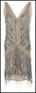 P.A.R.O.S.H Decollet� Sequined Dress.