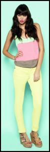 Pastel Lemon Jeans At Matalan.