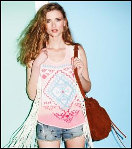 Summer Top By Republic.