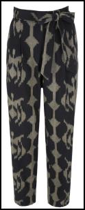Monsoon Ikat Print Trousers.