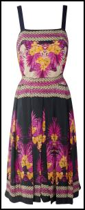 Wallis Multi Colour Tropical Print Strappy Sundress.