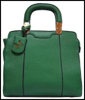 A-shu Green Handbag.