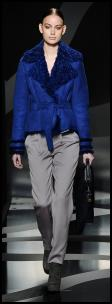 Blue Jacket & Titanium Grey Trousers by Aigner.