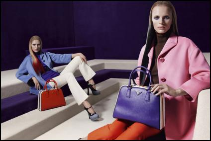Colourful Coats From Prada AW12-13.