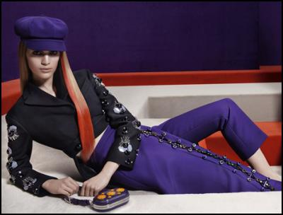 Prada Purple Fashion.