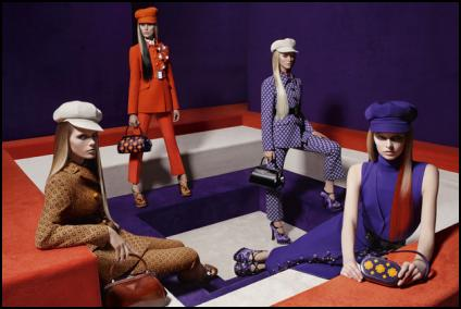 Trouser Suit Fashions From Prada AW12/13.