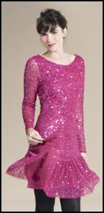 Ruby Ray Pink Sequin Dress.
