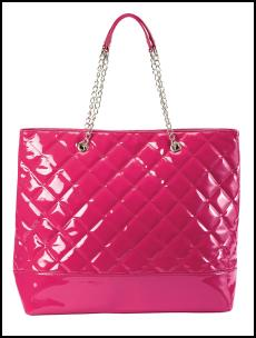 Pink Quilted Bag.