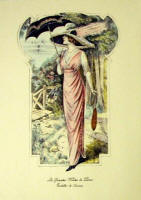 Fashion Plate Reprints Titanic Era - Pink Dress