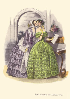 Le Petit Courrier des Dames Fashion Plate