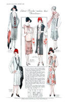 McCall's Pattern Images - August 1925 Magazine Page