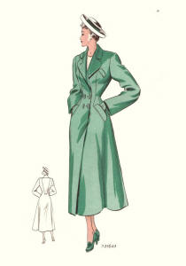 1940s Fashion Plate Images 1949