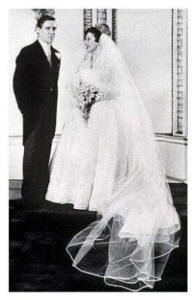 The Bridal Couple - Wedding of H.R.H. Princess Margaret with Anthony Armstrong Jones 1960.