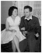 Vera and Peter 1961 two weeks before their wedding.