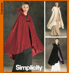 Simplicity Pattern 4947 - A Beautiful Cape