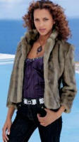 Mink Faux Fur Jacket (967-041-X36) Price : �69.99. 70% acrylic 30% polyamide. Backing 100% polyester. Sizes 8 - 20
