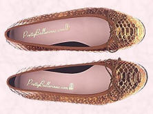 Audrey ballerina flat shoes from Prettyballerinas.com