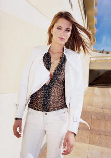 Spring Summer 2006 Topshop White Jacket and Trousers Fashion Outfit