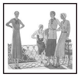 Day wear - April 1930 - Good Housekeeping Fashion Images 3