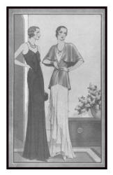 Evening wear - April 1930 - Good Housekeeping Fashion Images 3