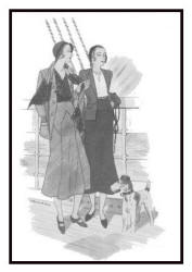 April 1930 - Good Housekeeping Fashion Images 3 - Suirs
