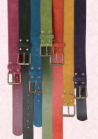 Boden coloured belts