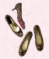 Animal print material footwear from Boden