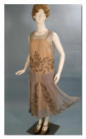 Picture of Vintage Beaded 1920s Flapper Dress