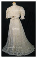 Edwardian Mixed Lace Gown