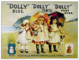 Dolly Blue, Tints and Dyes.