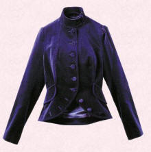 This �45 velvet jacket below is from the Autumn/Winter 2005/6 Tesco range Florence and Fred.
