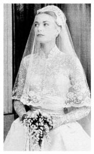 The MGM Wedding Dress for Princess Grace Kelly - Veil Detail
