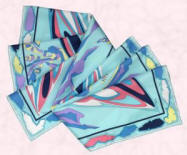 This beautiful silk Pucci scarf is from Harrods