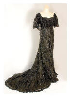 c1910 Edwardian Gown from Vintagetextile.com