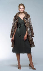 Helene Berman Faux Leopard print fur coat at �170 from House of Fraser