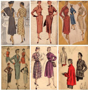 1951 Old patterns from the website Patterns from the Past