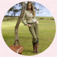 Miss Selfridge Country Casuals a traditional look, influenced by equestrian sports and country pursuits