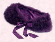 Purple shoulder cape/tippet from NEXT DIRECTORY UK