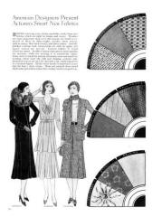 October 1930 - Good Housekeeping Fashion Images 4 - Art deco designs