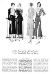 Frocks - October 1930 - Good Housekeeping Fashion Images 4