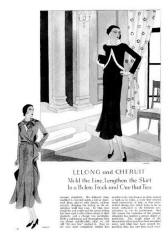 Ermine trims -  October 1930 - Good Housekeeping Fashion Images 4