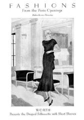 Dress - October 1930 - Good Housekeeping Fashion Images 4