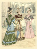 Queen fashion plate