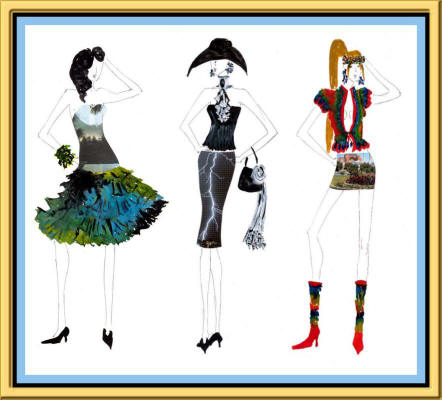 Short and Sassy Fashion Designs by Rallitza Dimitrova Gallery 22