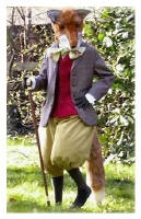 Beatrix Potter's Mr Tod by Shirley Eborn - costume maker