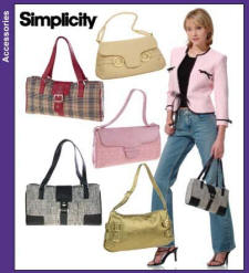 Simplicity Pattern 4646 bags