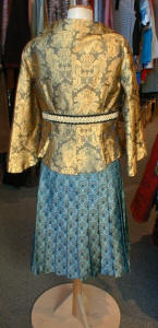 Back View of Noa Noa Brocade Items at Acanthus.