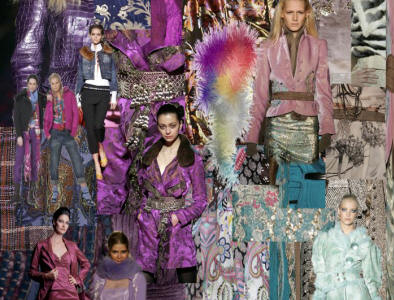 Picture of Purples Mood Board Fashion Colours Fall 2006